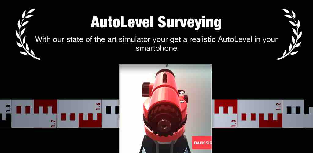 autolevel app banner