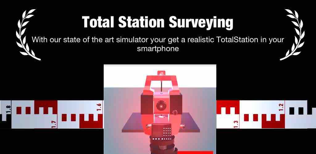 total station app Banner